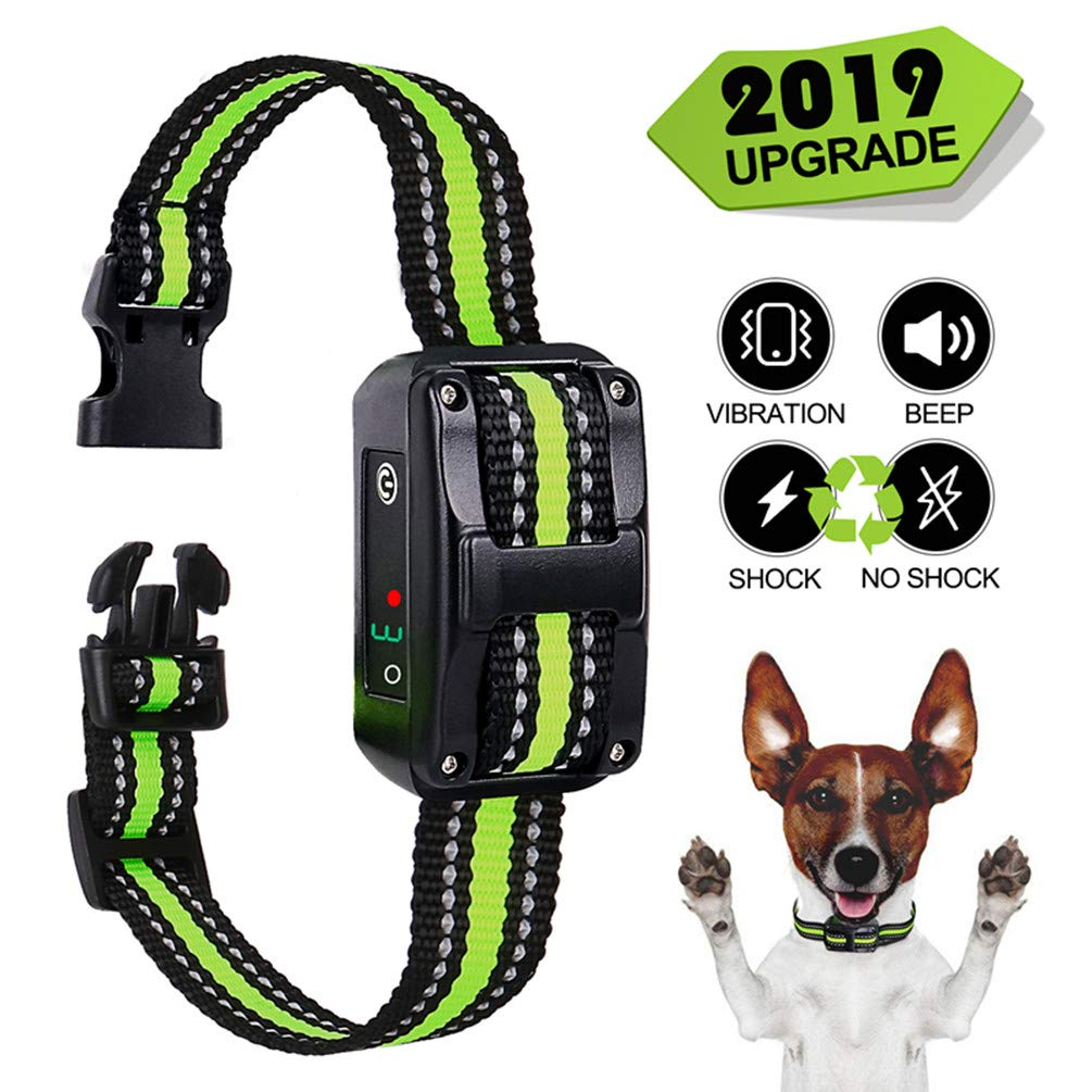 Zapuno Small Bark Collar Rechargeable for Dogs,Anti Barking Collar for Small Dogs -Waterproof Smallest Humane Stop Barking Collar – No Shock Bark Collar – Safe Pet Bark Control Collar