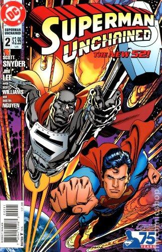Superman Unchained #2 75th Anniv Reborn VAR 2013 *DC Comics* pdf