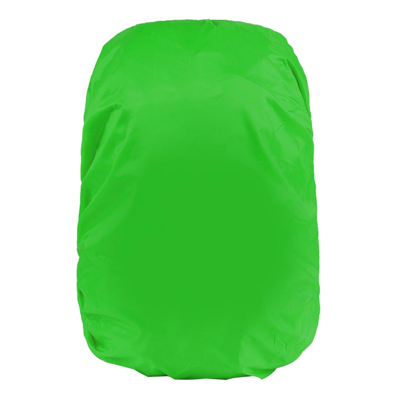 ReFaXi折りたたみ式アウトドアキャンプハイキング防水防塵旅行バックパックリュックサック雨カバープロテクター(グリーン) B07D43MLY2