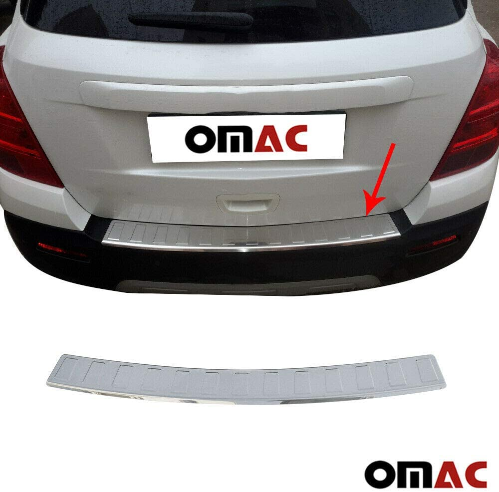 Rear Door Bumper Sill Plate Guard Protector Cover For Buick Encore 2017-2020