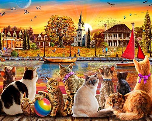 cat puzzle 1000 - 8