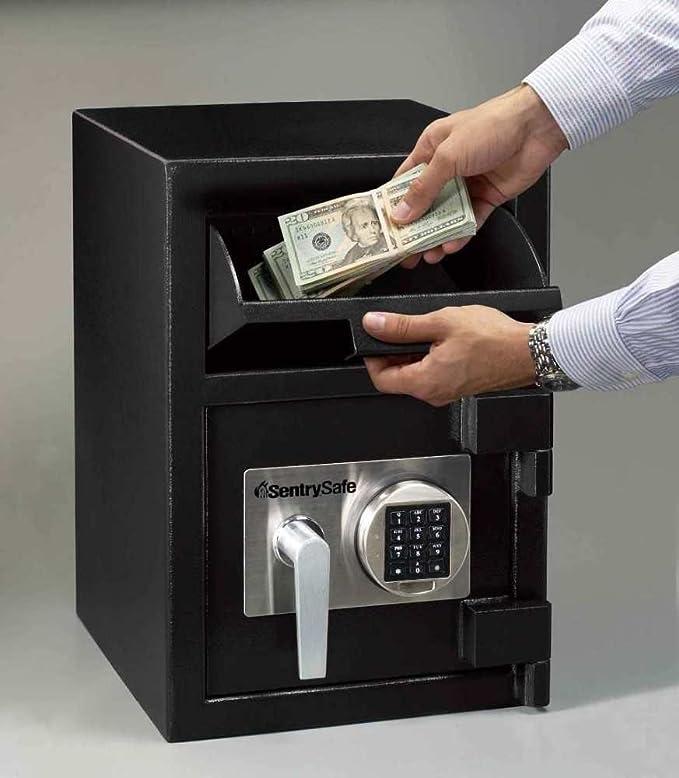 Sentrysafe Depository Safe Large Digital Money Safe 094 Cubic
