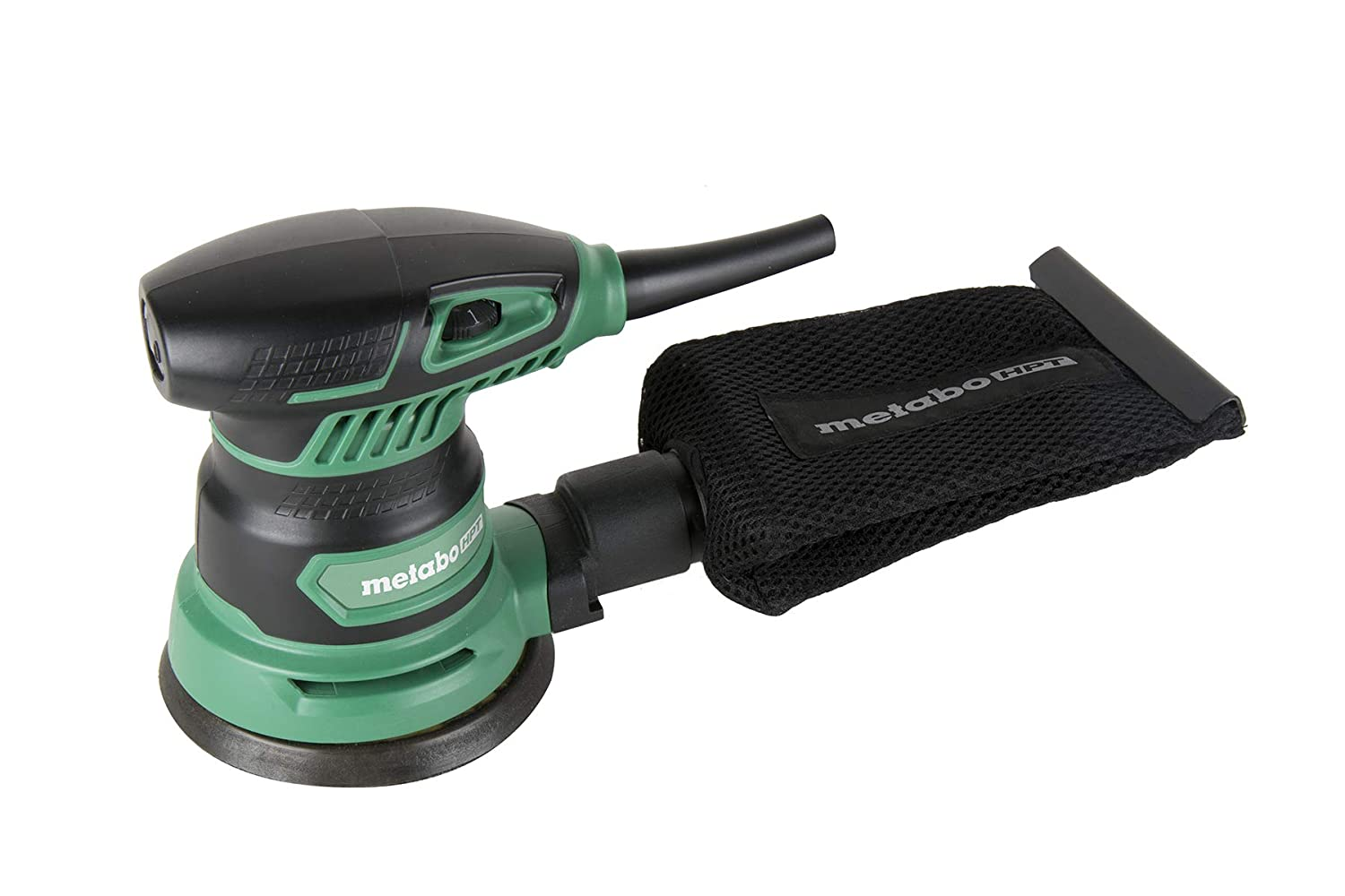 Metabo HPT SV13YST 5-Inch Random Orbit Sander, Variable Speed, Powerful 230W 2.8 Amp Motor, Soft Elastomer Grip, Includes 5 Pieces of Sanding Paper, Dust Bag, Vacuum Adapter, 5-Year Warranty