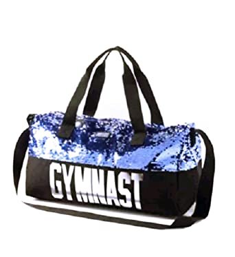 085a2666cef3 Justice Girls Gymnast Duffle Bag Flip Sequin Tote Gym Bag  Amazon.co.uk   Clothing