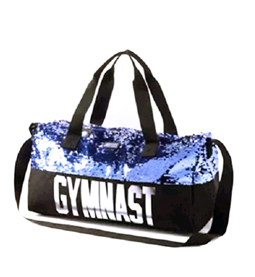 Justice Girls Gymnast Duffle Bag Flip Sequin Tote Gym