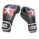 Xnature 4oz 6oz 8oz PU Kids Boxing Gloves w/Gift