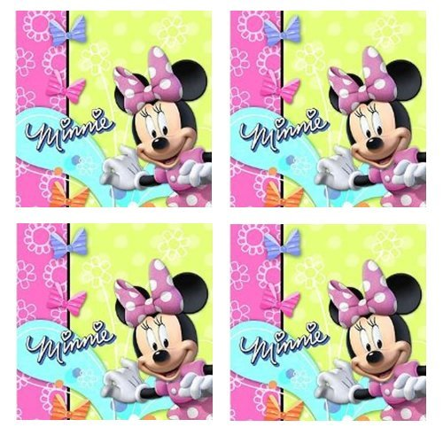 Disney Minnie Mouse Bow-tique Party Lunch Napkins - 24 Guests
