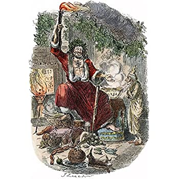 Amazon.com: Dickens Christmas Carol 1943 The Second Of The Three Spirits (The Ghost Of Christmas ...
