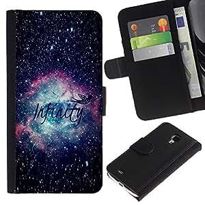iBinBang / Flip Funda de Cuero Case Cover - Ciencia Astronomía - Samsung Galaxy S4 Mini i9190 MINI VERSION!