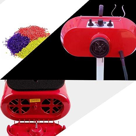 DOUPU Secador de Pelo para Mascotas Secador de Pelo para Perros Secador de Pelo Motor Doble Vertical Soplador de Agua de Alta Potencia 2800 W Rojo Hogar ...
