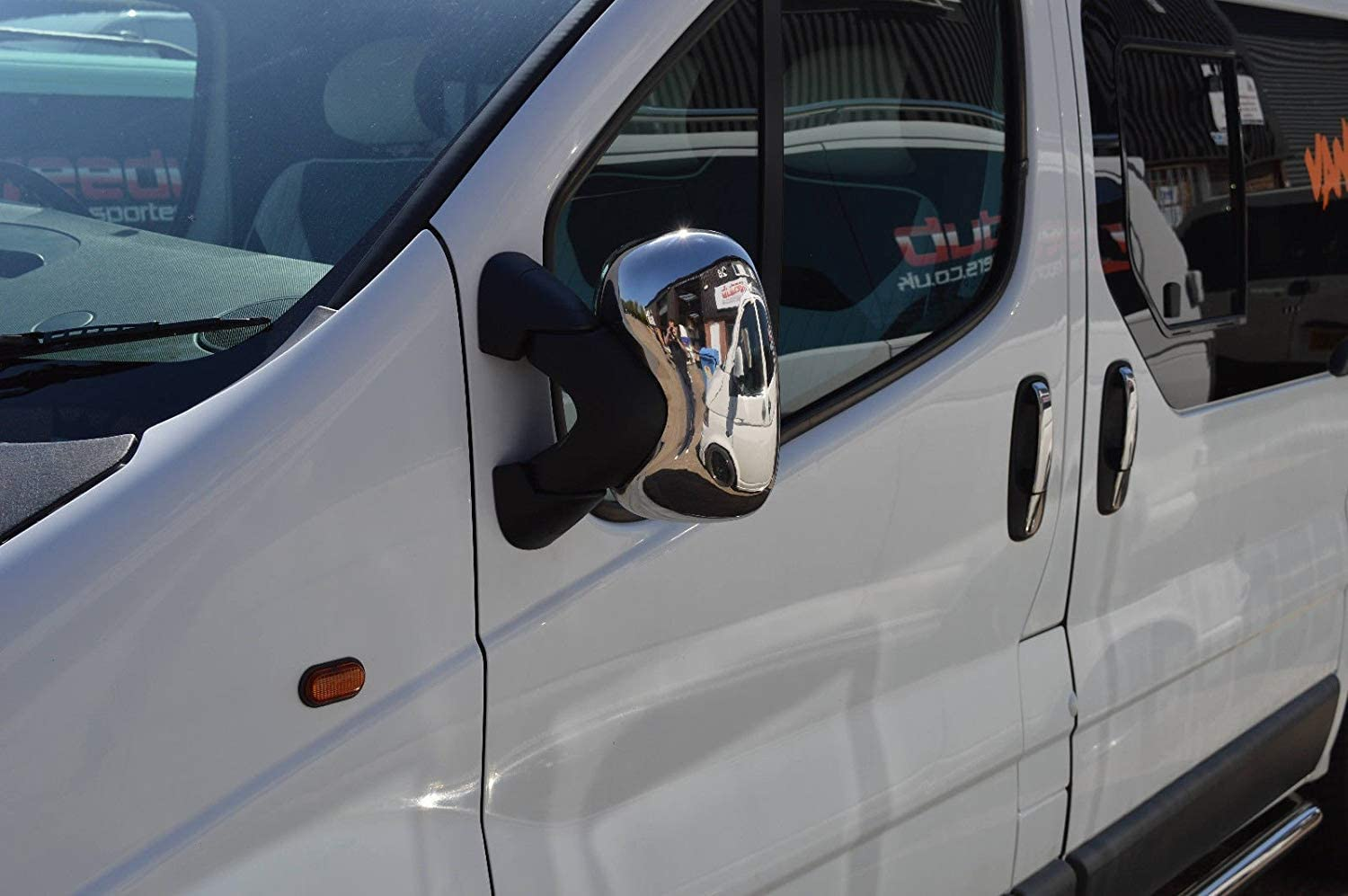 VIVARO//TRAFIC//PRIMASTAR ABS Chrome Mirror Cover 2 Pieces