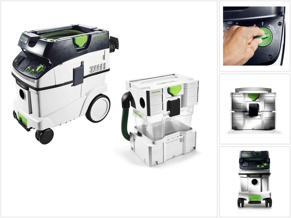 Festool CTL 36 E AC CLEANTEC - Extractor de polvo (36 L) L (574958) + separador CT-VA: Amazon.es: Bricolaje y herramientas