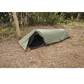 """Snugpak The Ionosphere 1 Man Dome Tent 94"""" x 39"""" x 28"""" Nylon 4 <p>The Ionosphere by Snugpak is an extremely small and compact 1 person tent. The Ionosphere has a very low profile and is great for those looking for a 1 person tent to keep out of the elements. Just like The Bunker, the Scorpion 3 and Scorpion 2, the Ionosphere also has a 5000mm PU Coated Fly. The Ionosphere has a single entry point, No-See-Um-Mesh and all seams are seam taped. A very impressive small compact tent by anyone's standard. Flysheet is a lightweight 210t Polyester RipStop pu with a 5000mm waterproof polyurethane coating Inner Tent constructed of 190t Nylon with Polyester Mesh 50D Polyester No-See-Um-Mesh Mosquito Net DAC Featherlite NSL anodized poles with pressfit connectors All DAC Poles are made from TH72M aluminum</p>"""