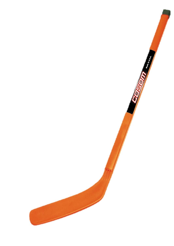 "Cosom Elementary Plastic Hockey Sticks for Floor Hockey, Ice Hockey, and Street Hockey for Kids, Youth Hockey Training Equipment, Physical Education Equipment, Plastic 36"" Stick, Standard Shaft"