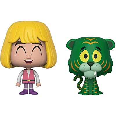 Funko Masters of the Universe Prince Adam and Cringer Specialty Series VYNL Figure 2-Pack: Toys & Games