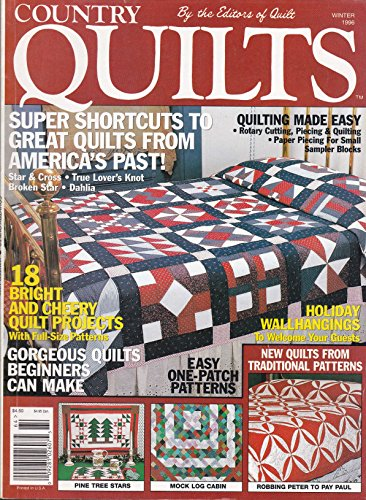 (Country Quilts (Winter 1996, Vol. 13, No. 3))