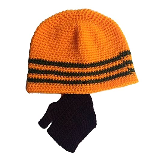 Amazon Vanker Unisex Winter Ski Cycling Handmade Crochet