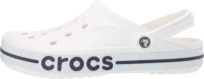Crocs Mens and Womens Bayaband Clog Comfortable Slip On Water Shoes