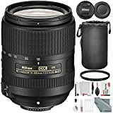 Nikon AF-S DX NIKKOR 18-300mm f/3.5-6.3G ED VR Wide-Angle to Telephoto Lens and Basic Bundle with Xpix Professional Cleaning Kit