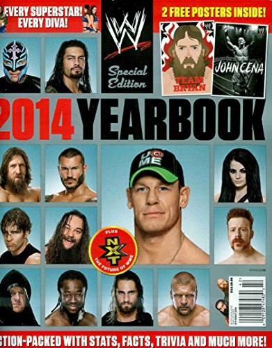 WWE YEARBOOK 2014 [Single Issue (Wwe Facts)
