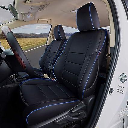 blue Car seat covers fit Nissan Qashqai 2006-2013 full set black