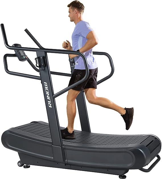RUNOW Curved Treadmill, Non-Electric