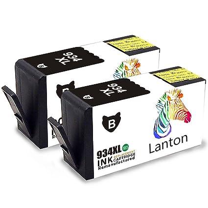 lanton Compatible HP 934 935 Cartuchos de Impresora 934 X L 935 ...