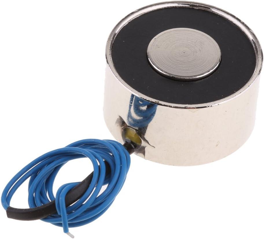 DC 6V 50N Electroimanes Electromagn/éticos de CC Electroimanes de elevaci/ón 5 tipos Im/án el/éctrico de elevaci/ón con bobina