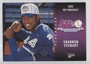 Shannon Stewart (Baseball Card) 2003 Multi-Ad South Atlantic League Top Prospects - [Base] #36