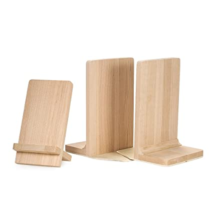 MITIME Creative Wooden Bookends And Bracket