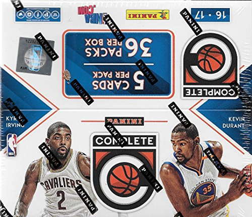 2016-2017-panini-complete-series-nba-basketball-unopened-retail-box-of-36-packs-with-180-cards-total