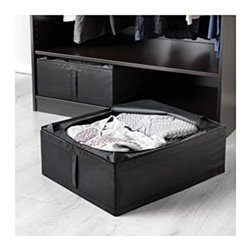 Ikea Skubb Underbed Storage Box Black 2 Pack