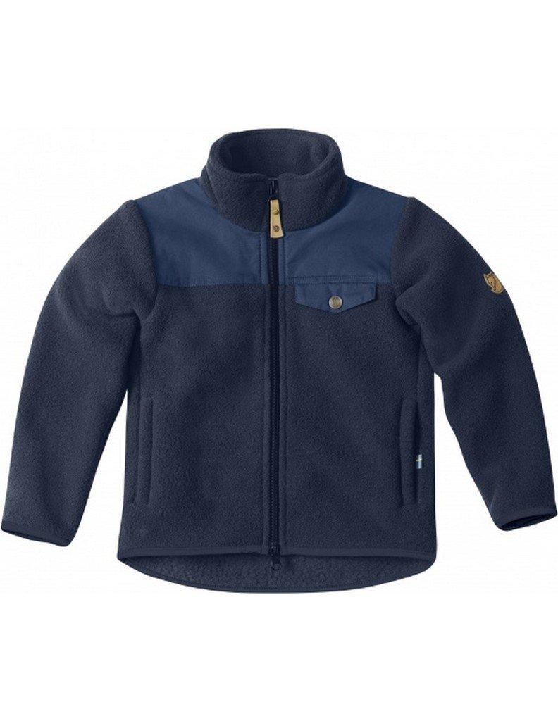 Fjallraven Kids Singi Fleece Jacket, Dark Navy, 146