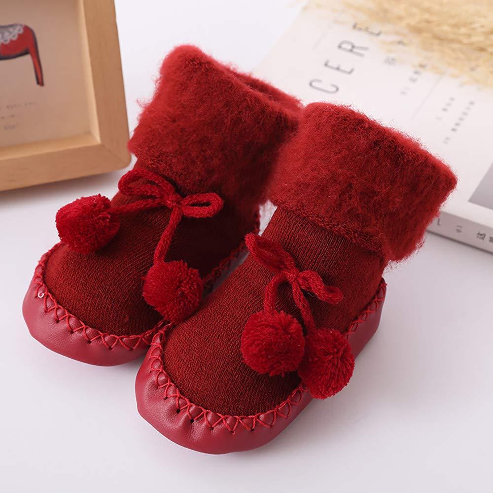 Baby Junge M/ädchen Boden Socken Baumwolle Kinder Stock socken Anti-Rutsch Baby Schritt Socken Huhu833 Baby Socken