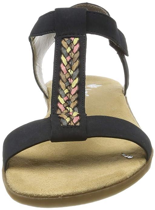 Rieker Damen 65172 14 Geschlossene Sandalen