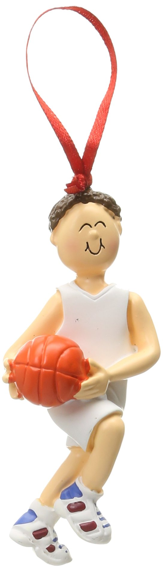 Ornament Central OC-100-MBR Male Basketball Figurine