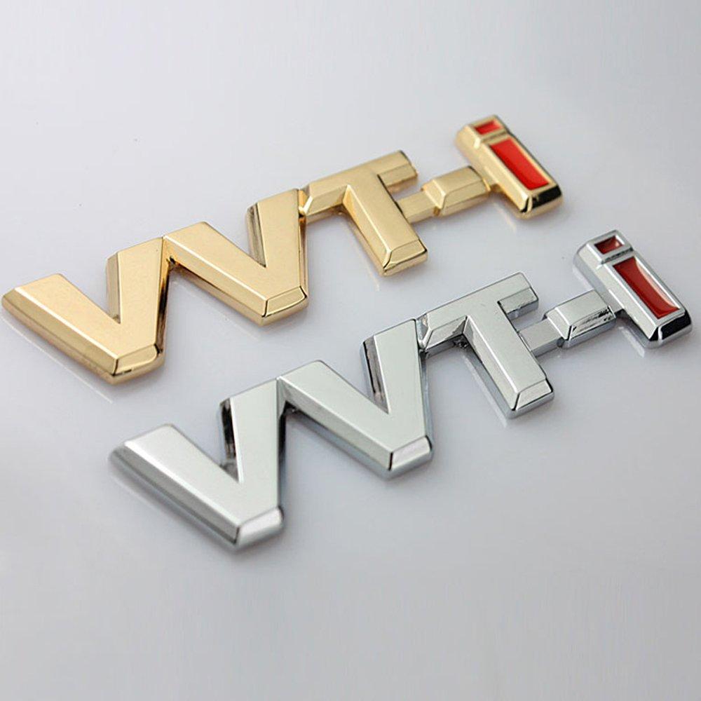 3D Metal VVT-I Car Side Fender Rear Trunk Emblem Badge Sticker Decals for Toyota Camry Lexus Is Es Rx by BENBW (Image #7)