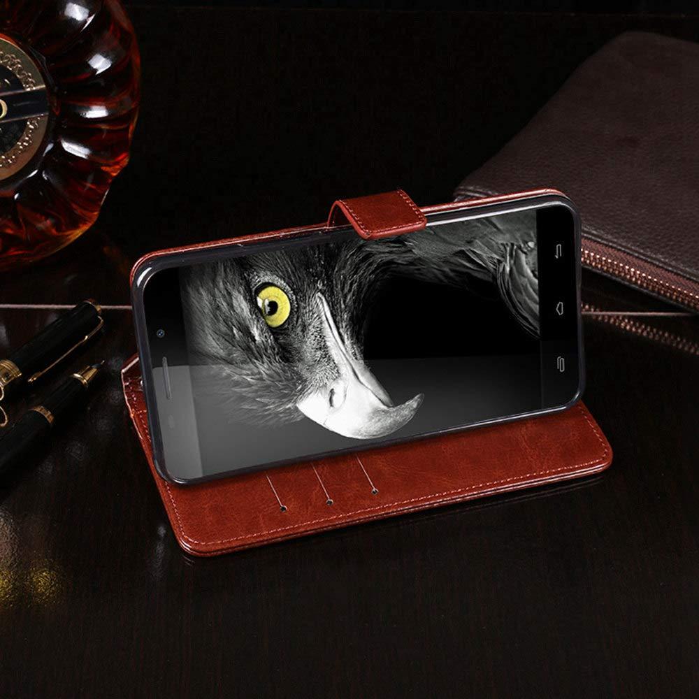 Amazon.com: Ulefone Metal Case, PU Leather Stand Wallet Flip ...