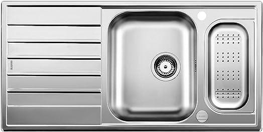 Blanco Livit XL 6 S Kitchen Brushed Stainless Steel Kitchen Sink ...