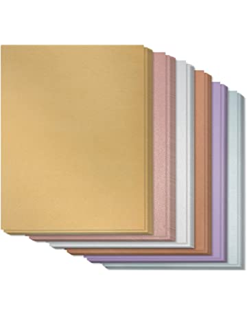 9d6e8f8d2f88 Assorted Metallic Paper - 96-Pack Shimmer Papers