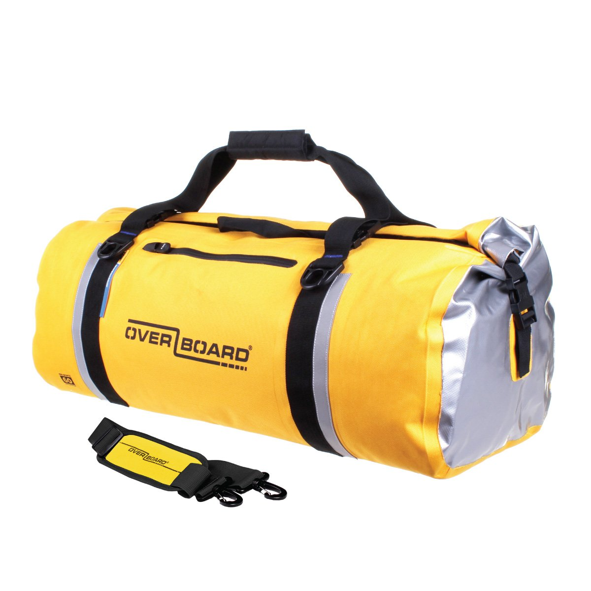 Overboard OB1151Y Classic Waterproof Mochila Impermeable - 60 Ltr - Amarillo