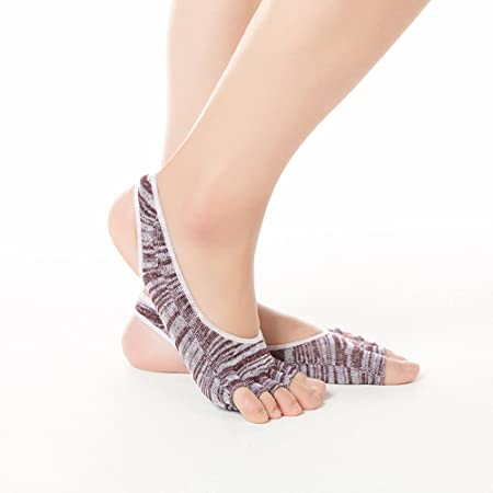 Calcetines de Yoga Antideslizantes El calcetín de Yoga ...