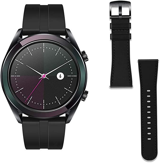 Huawei Watch GT Elegant - Reloj Inteligente, Negro, 42 mm, Reloj+ ...
