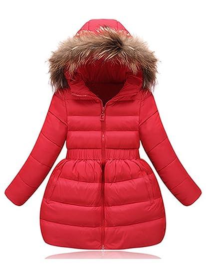 Manteau Doudoune Capuche D'hiver Fille Ochenta 4e7n8 Neige Fourrure Robe R354AjqScL
