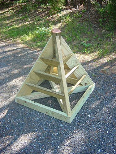 3 ft. Strawberry Pyramid Woodworking Plans. DIY Instruction guide includes photos at every -