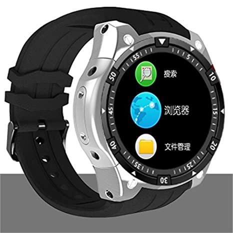 MHCYKJ 3G Smart Watch Android 5.1 Dual Core Frecuencia cardíaca ...