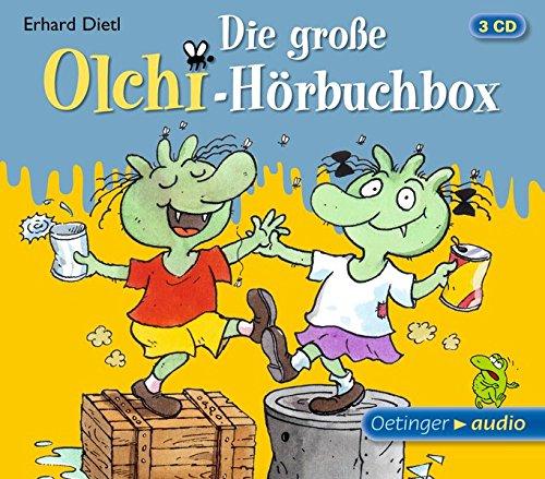 Die große Olchi-Hörbuchbox (3 CD): Hörspiele, ca. 85 min.