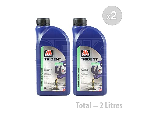 Millers aceites Trident 10 W-40 Aceite de motor Semi sintético (Formerly XSS 10