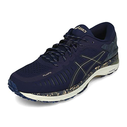 ac95279eea1e ASICS MetaRun Peacoat Frosted Almond Blue  Amazon.co.uk  Shoes   Bags