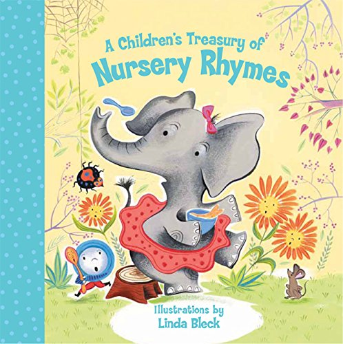 A Children's Treasury of Nursery - Books Board Rhymes Childrens Nursery